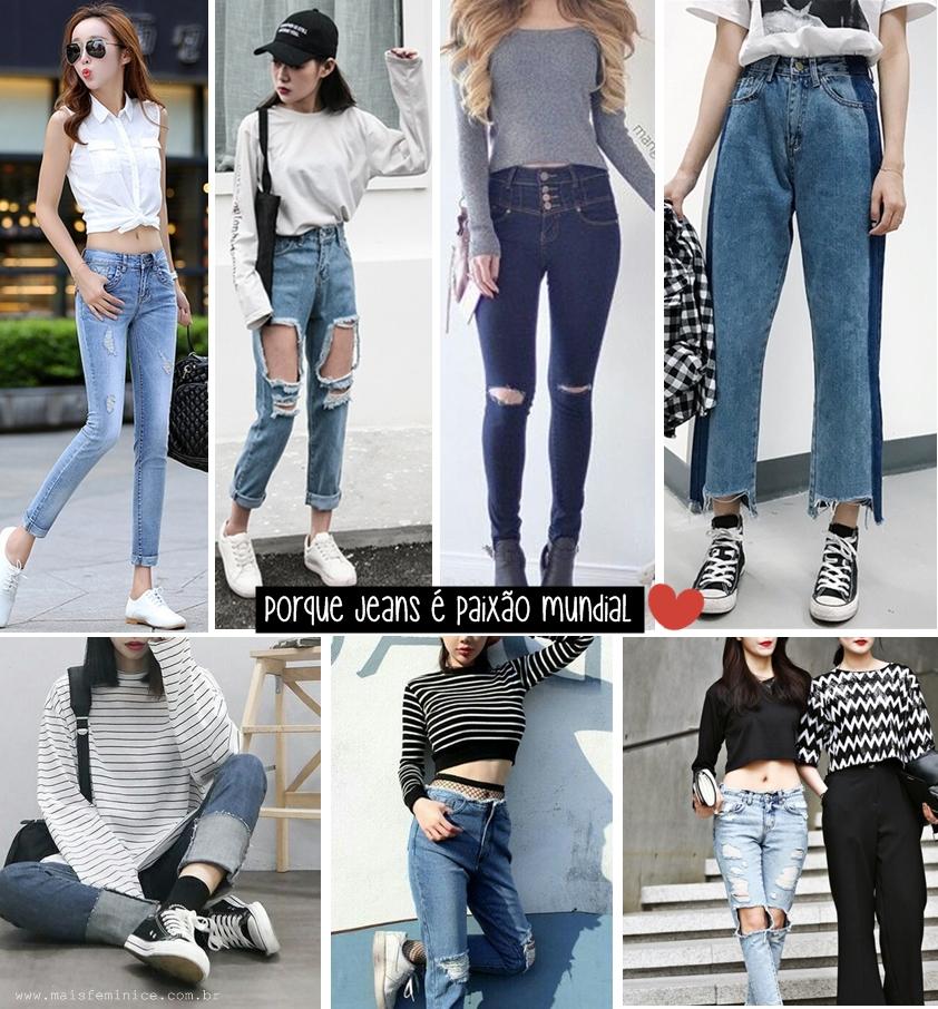 Moda Coreana: jeans