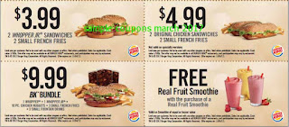Burger King coupons march 2017