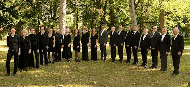 Gruppenbild des Tallis Ensemble Freiburg vom 25.09.2016