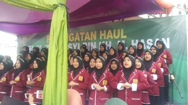 Yayasan Ponpes Putri Al-Hasaniyah   Peringati Haul  ke 12 KH. Zarkasyih