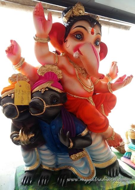 Baby Ganesha, Ganesh Chaturthi, Mumbai
