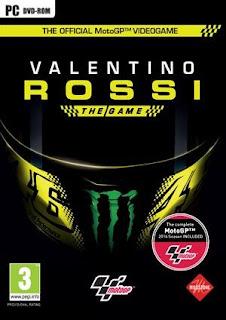 غلاف لعبة سباقات الرائعة و المدهشة Valentino Rossi The Game