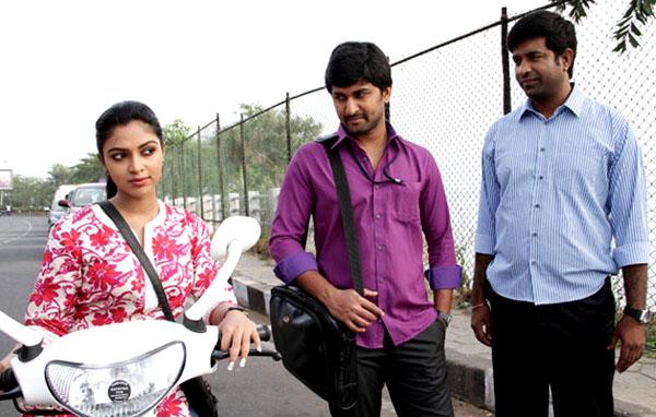 Telugu Movie Actress Photos Tamil Movie Actress Photos Nani Amalapaul Janda Pai Kapiraju Movie Stills Janda Pai Kapiraju Movie Heroine Amala Paul Stills Nani New Movie Janda Pai Kapiraju