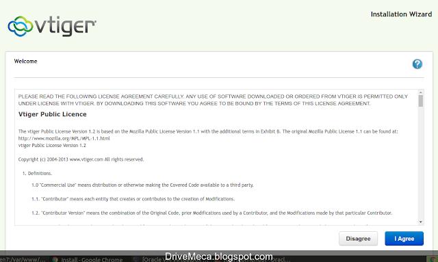 DriveMeca instalando y configurando Vtiger CRM paso a paso