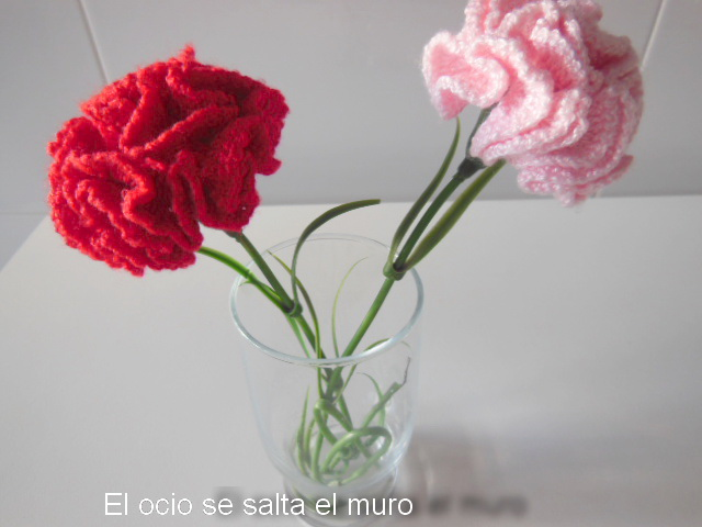 Contemporáneo Crochet Patrón De Flores De Clavel Regalo - Ideas de ...