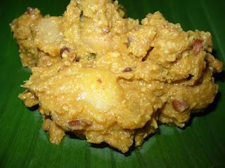 Thiruvathira puzhukku, a special dish made on Thiruvathira festival in Kerala