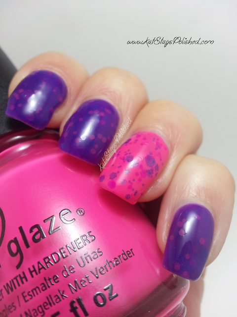 Glitter Daze: A Boardwalk to Remember | China Glaze Escaping Reality