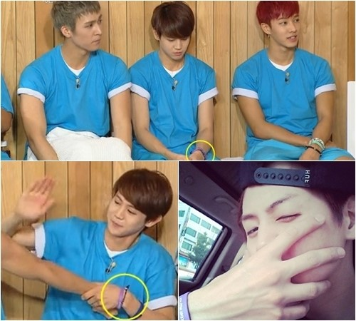 Article Hy Together 3 Yang Yoseob Spotted Wearing A Comfort Women Awareness Bracelet Interest Causes Organization Site To Crash