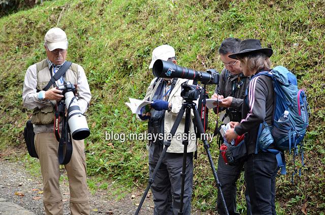 Teams of Borneo Bird Festival