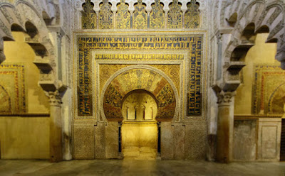 Gambar Arsitektur Islam di Cordoba Spanyol
