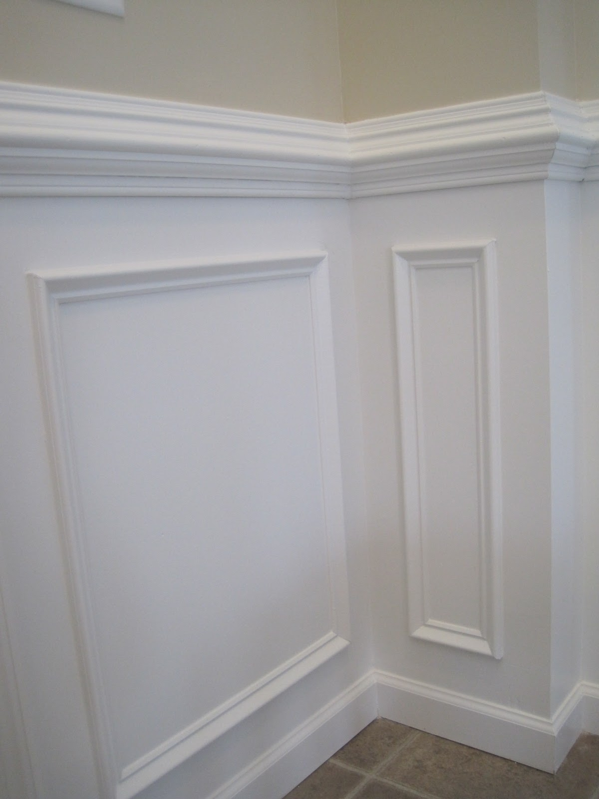 Powder Room Design Designed To Dwell Tips For Installing Chair Rail