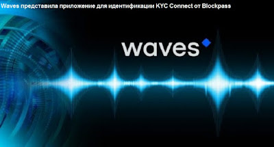 Waves представила приложение для идентификации KYC Connect от Blockpass