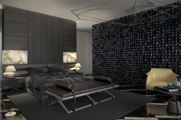 Dekorasi Bilik Tidur Utama Mewah Dan Luas