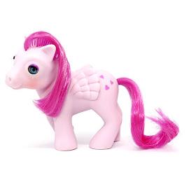 My Little Pony Baby Heart Throb Year Four Beddy Bye Eye Ponies G1 Pony