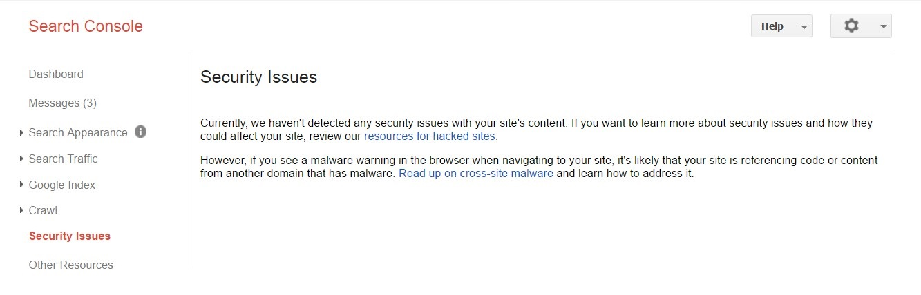google security issues