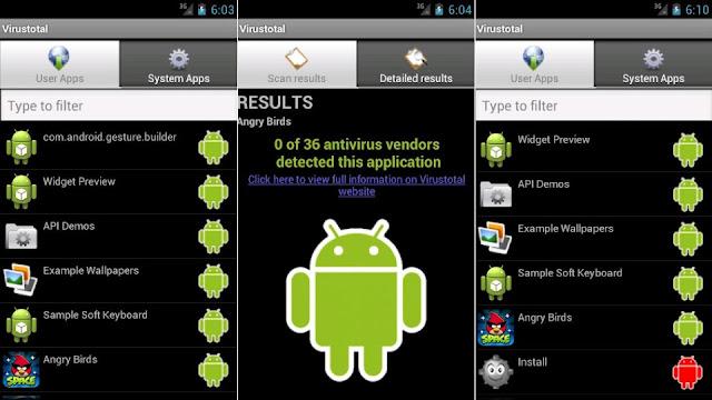 قم بفحص هاتفك باستخدام أكثر من 40 برنامج مكافحة الفيروسات بتطبيق واحد !