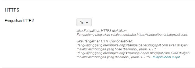 SSL dan HTTPS di blogspot