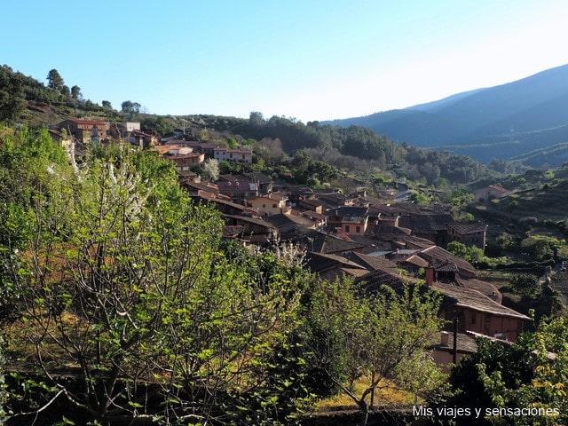Mirador en Robledillo de Gata