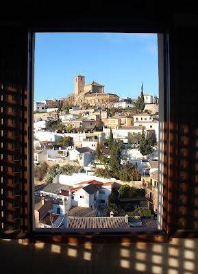 Vistas desde el Palacio Dar-al-Hora en Granada