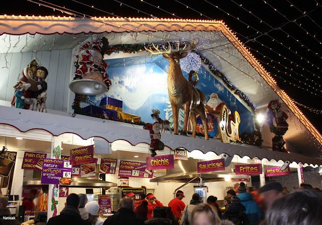 Le marché de Noël des Champs Elysées