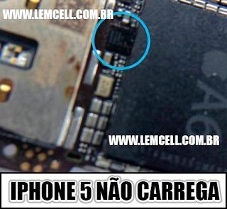 Apple iPhone 5 Não carrega Aplle iPhone 5  Charging ways solution