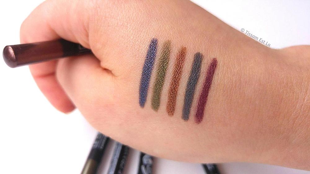 Avril Organic Eye pencils, Avril Organic, Organic makeup, vegan makeup, Avril beauté, Crayons pour les yeux Avril, Equivalenza, Crayon pour les yeux, eyeliner pencil