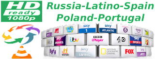 PT GLOBO Spain MOVIESTAR Latino Stb Polsat Russia
