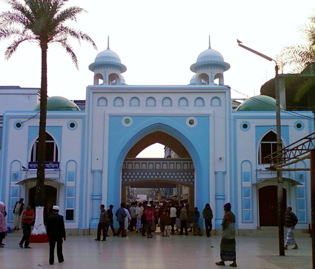 the shrine of Hazrat Shah Jalal