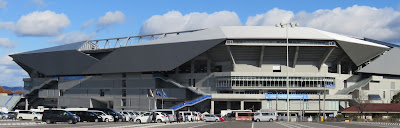 Suita City Stadium, Osaka, Japan.