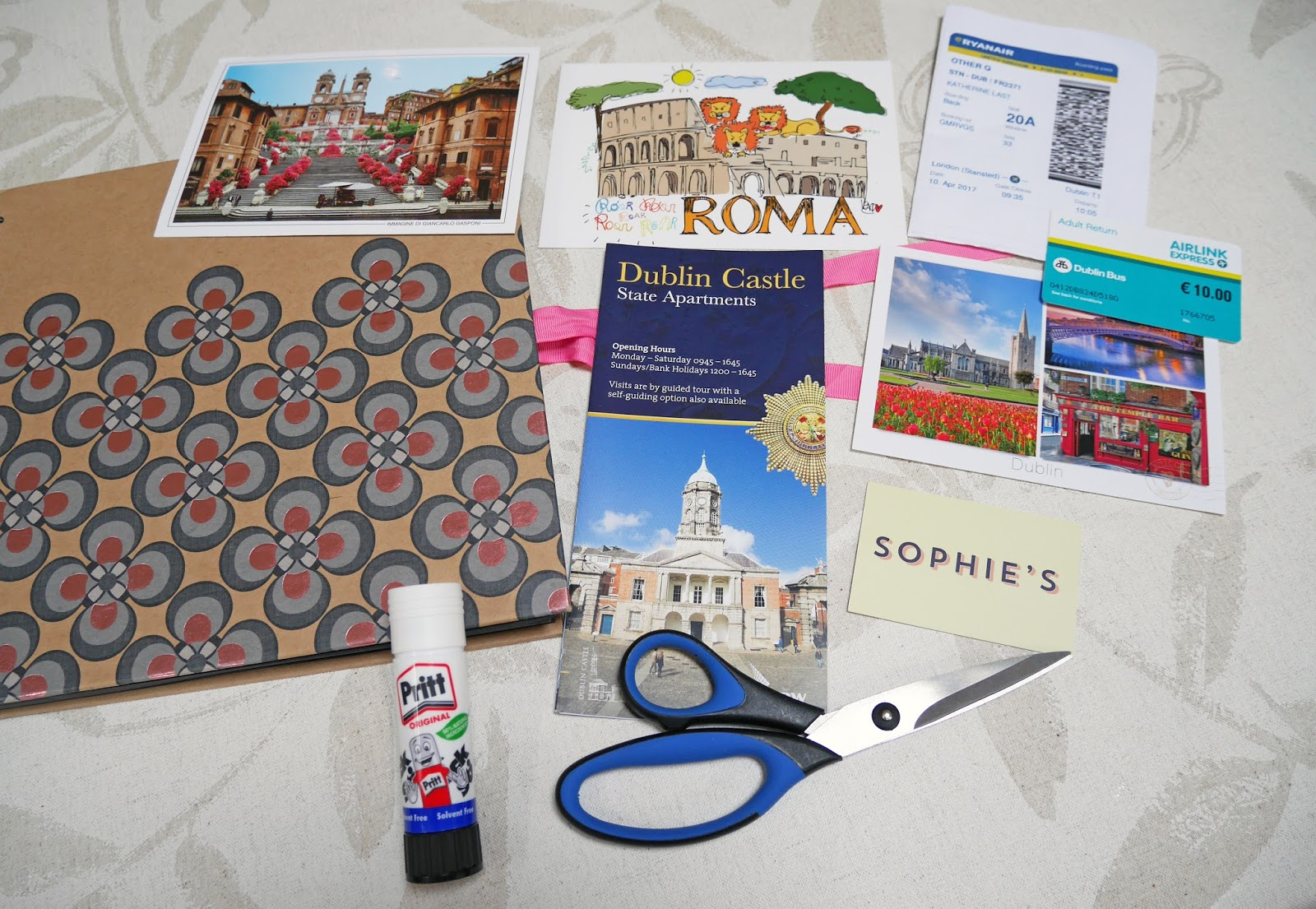 How to scrapbook travel -  To Create A Travel Scrapbooking Post I Ve Recently Bought A New Scrapbook For 2017 So I M Going To Show You That As Well As Some Pages In My 2016 One