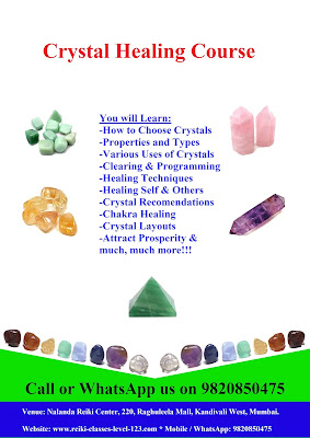 Reiki and crystal healing