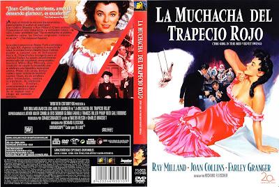 La muchacha del trapecio rojo | Caratula | Cine clásico