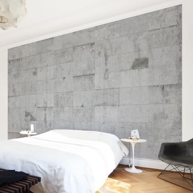 betong tapet sovrum fondtapet betongvägg fototapet