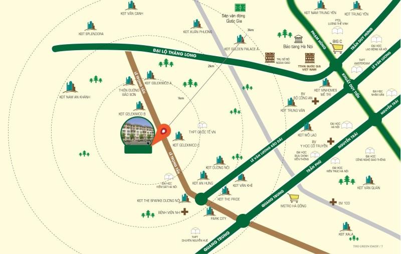 Vị trí dự án chung cư ICID Complex Lê Trọng Tấn