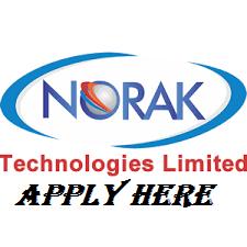 Norak Technologies Recruitment 2021, Careers & Job Vacancies (3 Lucrative Positions)
