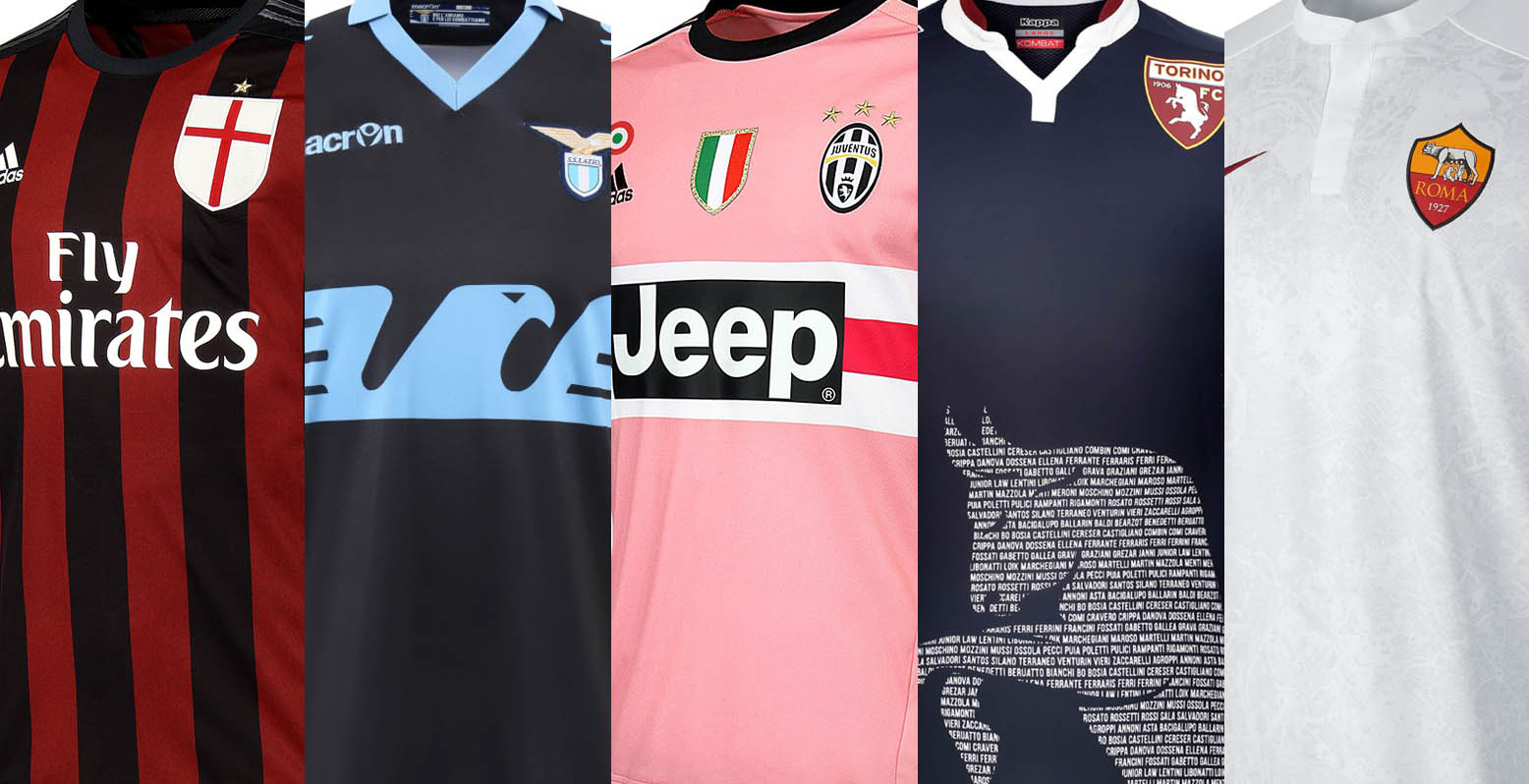 Serie A: 2015-16 Serie A Kits Special