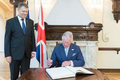 Károly herceg, Románia, Klaus Iohannis, Románia Csillaga, Brexit, Nagy-Britannia,
