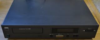 NAD 5425 CD player – no display