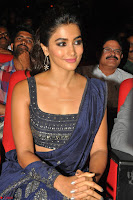 Pooja Hegde choli saree at DJ Duvvada Jaggannadham music launch ~  Exclusive 91.jpg