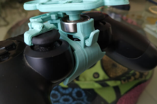 3D Printed PS4 Controller Wheel