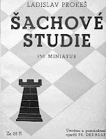 Libro de ajedrez Sachove Studie de Ladislav Prokes