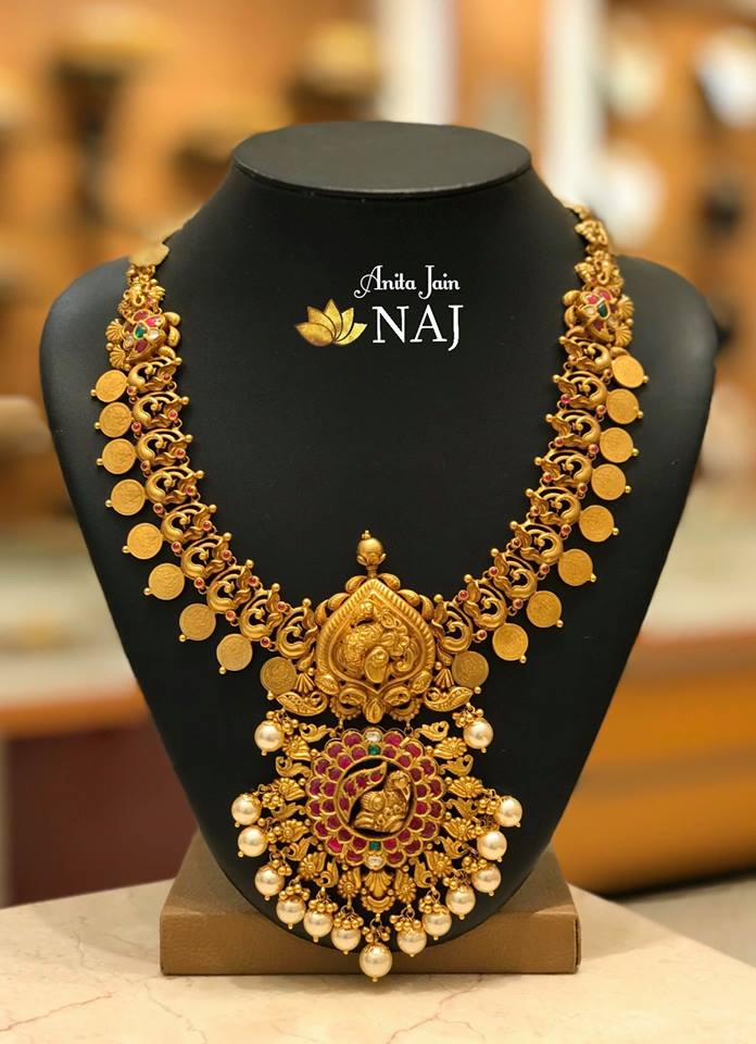 Kasu Necklaces by Naj Jewellery