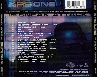 Krs One - The Snear Attack