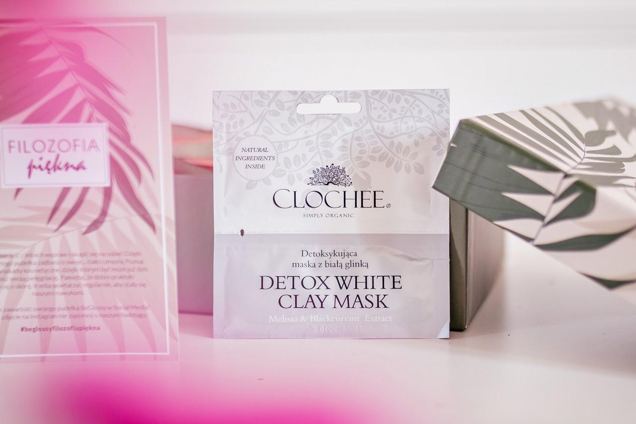 beGLOSSY Filozofia Piękna CLOCHEE  - Detoksykująca maska z białą glinką