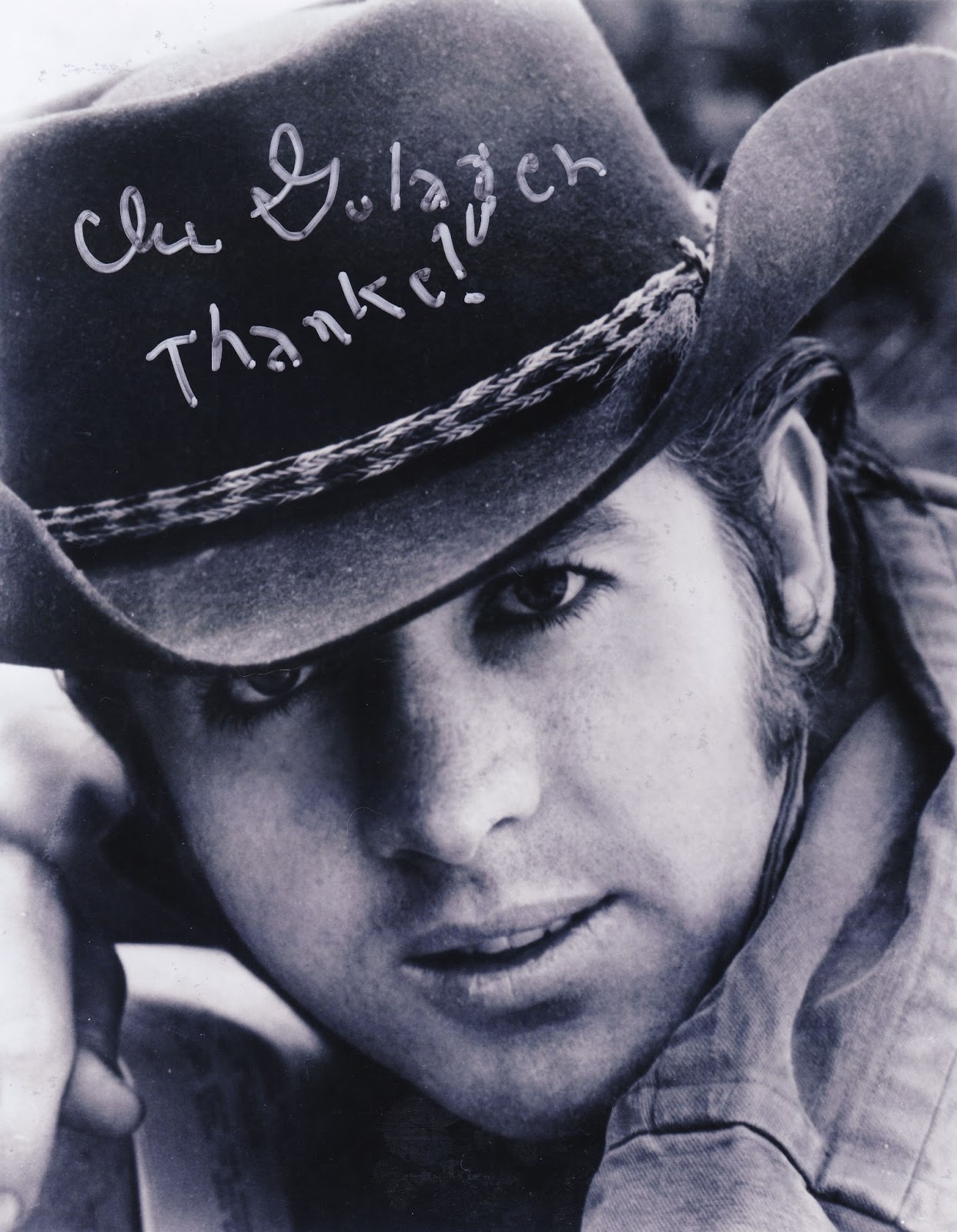 Clu Gulager Texas Frightmare Weekend 2013 | Autograph ...  Clu Gulager Tex...