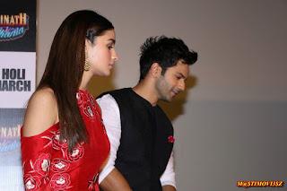 Alia Bhatt Wardrobe for Badrinath Ki Dulhania Promotion