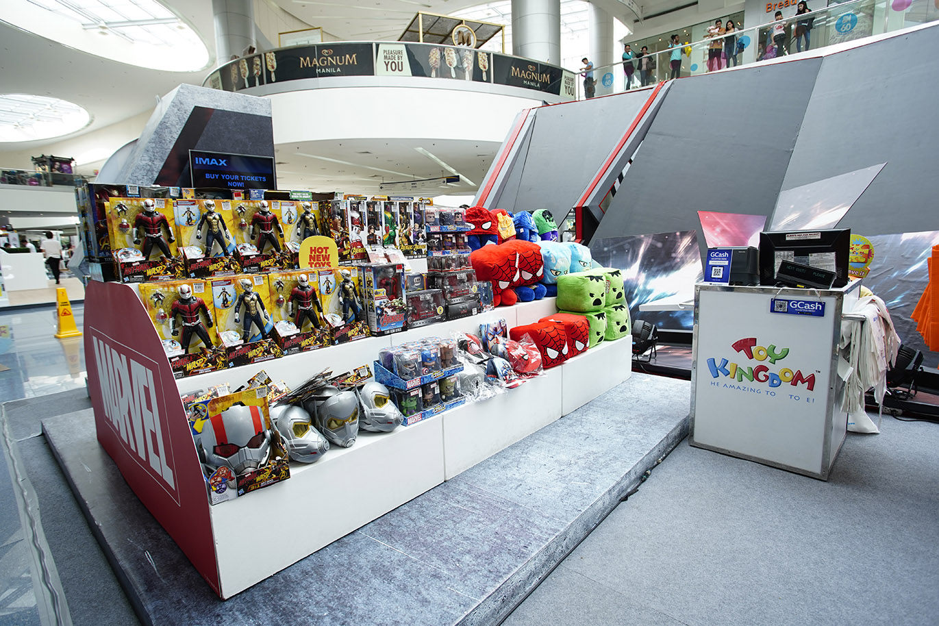Discover The World Of Ant Man And Wasp At Sm Cinema Jakarta Et Ticket Aquarium Reguler Weekday Feel Experience With Not Actual Size Exhibit Mall Asia Main Atrium On June 28 July 4 North Edsa