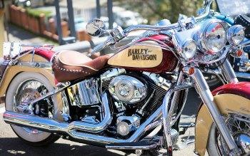 Wallpaper: Harley-Davidson Motorbike