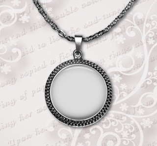 PNG Photo template for pendant