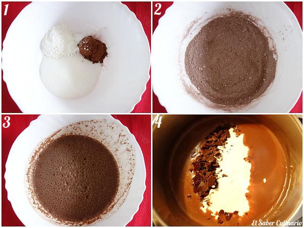 Cómo hacer natillas de chocolate caseras sin huevo paso a paso